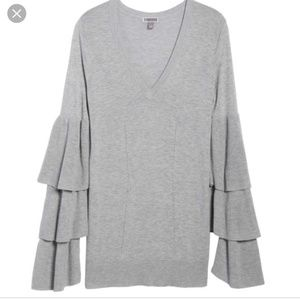 Nordstrom Chelsea 28 bell sleeve sweater